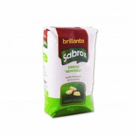Brillante Arroz Redondo Sabroz- 1kg