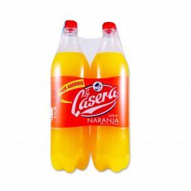La Casera Sabor a Naranja- (2 Unidades) - 3L