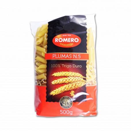 Romero Pasta Plumas Nº 5 - 500g