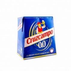 Cruzcampo Cerveza 0,0 - (6 Unidades) -150cl