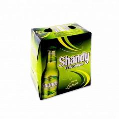 Cruzcampo Cerveza Shandy Sabor aLimón - (6 Unidades) - 150cl