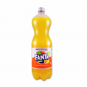 Fanta Naranja Zero Azúcares - 2L