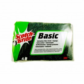 Scotch Brite Estropajo Basic - (4 Unidades)
