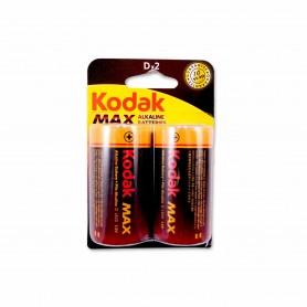 Kodak Pilas Alkaline 1.5v D - (2 Unidades)