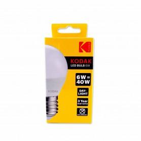 Kodak Bombilla Led E27 - 6W Equivalente a 40W - Luz - 480 Lúmenes