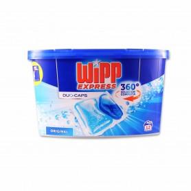 Wipp Express Detergente Original Duo - Caps - (12 Pastillas) - 300g