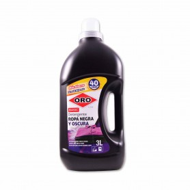 Oro Detergente Basic Ropa Negra y Oscura - 3L