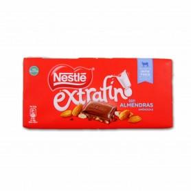 Nestlé Chocolate con Almendras Extrafino - 123g