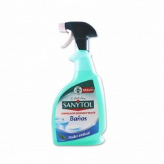 Sanytol Limpiador Desinfectante para Baños Poder Antical sin Lejía - 750ml