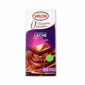 Valor Chocolate con Leche y Stevia - 125g