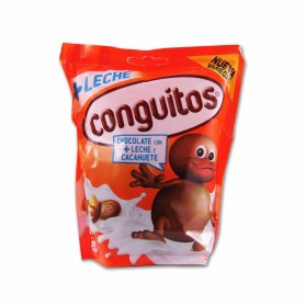 Conguitos Cacahuetes Recubiertos de Chocolate con Leche - 220g