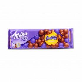 Milka Chocolate con Leche Relleno de Caramelo Líquido Bubbly - 250g
