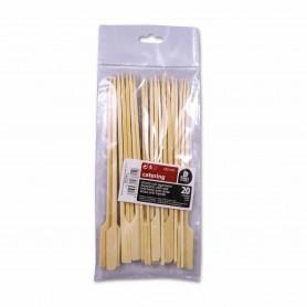 Catering Pinchos Bamboo con Agarrador - (20 Unidades)