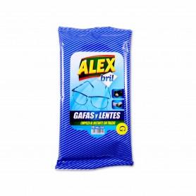 Alex Toallitas Gafas y Lentes - (20 Unidades)