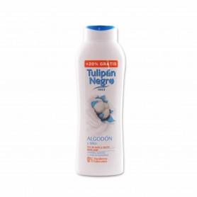 Tulipán Negro Gel de Baño y Ducha Algodón y Talco - 600ml + 20% Gratis