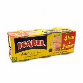 Isabel Atún en Aceite Vegetal - (6 Unidades) - 480g