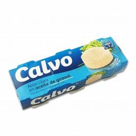 Calvo Atún Claro - (3 Unidades) - 240g