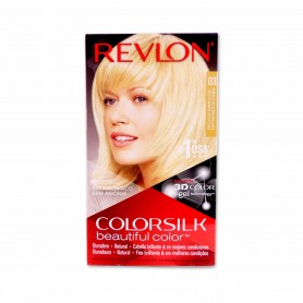 Revlon Tinte Colorsilk 03 Rubio Ultra Claro Brillante - 130ml
