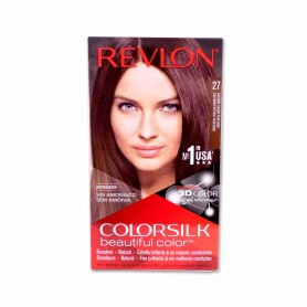 Revlon Tinte Colorsilk 27 Castaño Cálido Profundo - 130ml