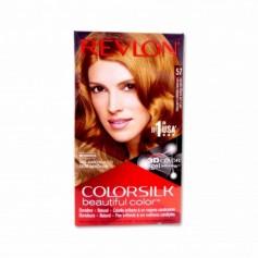 Revlon Tinte Colorsilk 57 Castaño Dorado Muy Claro - 130ml