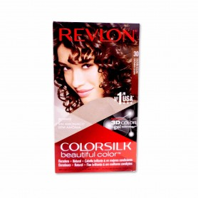 Revlon Tinte Colorsilk 30 Castaño Oscuro - 130ml