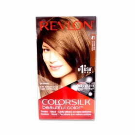 Revlon Tinte Colorsilk 41 Castaño Medio - 130ml