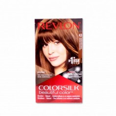 Revlon Tinte Colorsilk 43 Castaño Medio Dorado - 130ml