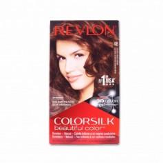 Revlon Tinte Colorsilk 46 Castaño Cobrizo Dorado - 130ml