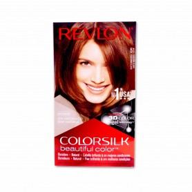 Revlon Tinte Colorsilk 51 Castaño Claro - 130ml