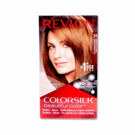 Revlon Tinte Colorsilk 54 Castaño Claro Dorado - 130ml