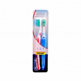 Oral-B Cepillo de Dientes Medio - (2 Unidades)