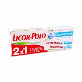 Licor del Polo Pasta de Dientes Blanco Polar - (2 Unidades) - 150ml