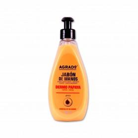 Agrado Jabón de Manos Dermo Papaya - 500ml