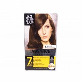 Llongueras Tinte Advance Profesional 5.3 Castaño Claro Dorado - 146,5ml