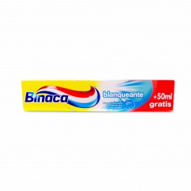 Binaca Pasta Dental Blanqueante - 125ml + 50ml Gratis