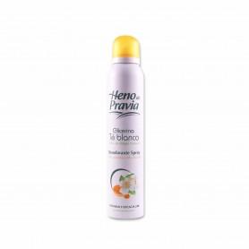 Heno de Pravia Desodorante Glirecina Té Blanco - 200ml