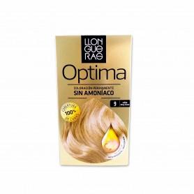 Llongueras Tinte Optima sin Amoníaco 9 Rubio Muy Claro - 152,5ml