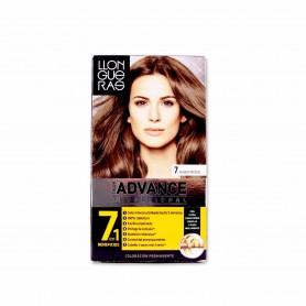 Llongueras Tinte Advance Profesional 7 Rubio Medio - 146,5ml
