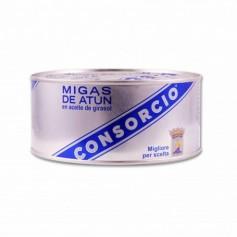 Consorcio Migas de Atún en Aceite de Girasol - 1kg