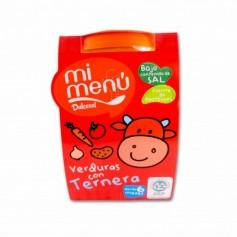 Dulcesol Mi Menú Verduras con Ternera - (2 Unidades) - 400g