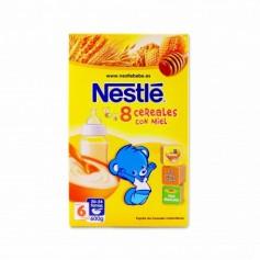 Nestlé Papillas 8 Cereales con Miel - 600g
