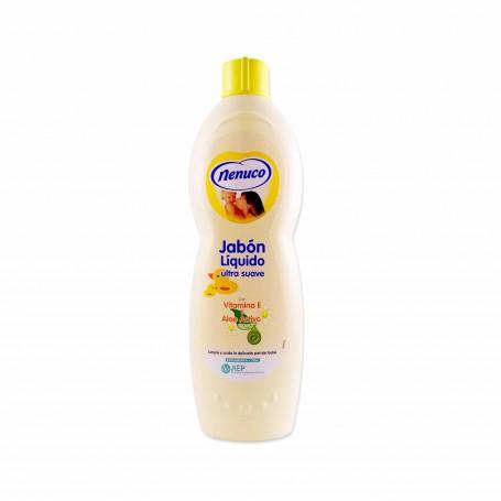 Nenuco Jabón Líquido Ultra Suave con Vitamina E y Aloe Activo - 750ml