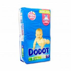 Dodot Pañales Infantiles Talla 3 (5 - 10kg) - 70 Pañales