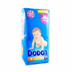 Dodot Pañales Infantiles Talla 4 (8 - 14kg) - 64 Pañales
