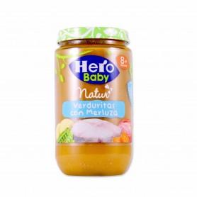 Hero Baby Potito Verduritas con Merluza- 235g