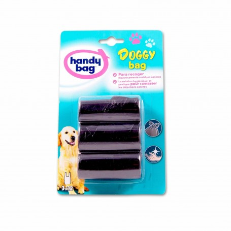 Handy Bag Bolsas Doggy Bag - (36 Bolsitas) - 3 Paquetes