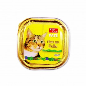 Red Cat Paté Rico en Pollo Completo para Gatos - 100g