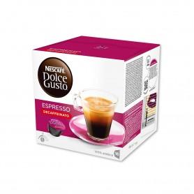 Nescafé Dolce Gusto Espresso Decaffeinato 100% Arábica Intensidad 5  - (16 Cápsulas) - 96g (CAD - 30/11/19)
