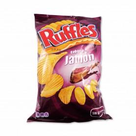 Ruffles Patatas Fritas Sabor a Jamón - 170g