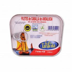 La Tarifeña Filetes de Caballa de Andalucía en Aceite de Girasol - 250ml